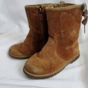 6ad95ca8a47 Toddler Kids Girls UGG 1005146T CORINNE SUEDE Lace